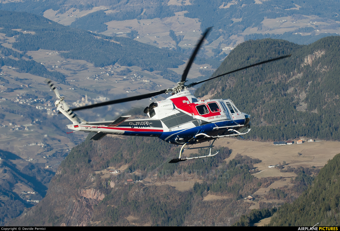 GRS Helidoctor D-HAFL aircraft at In Flight - Italy