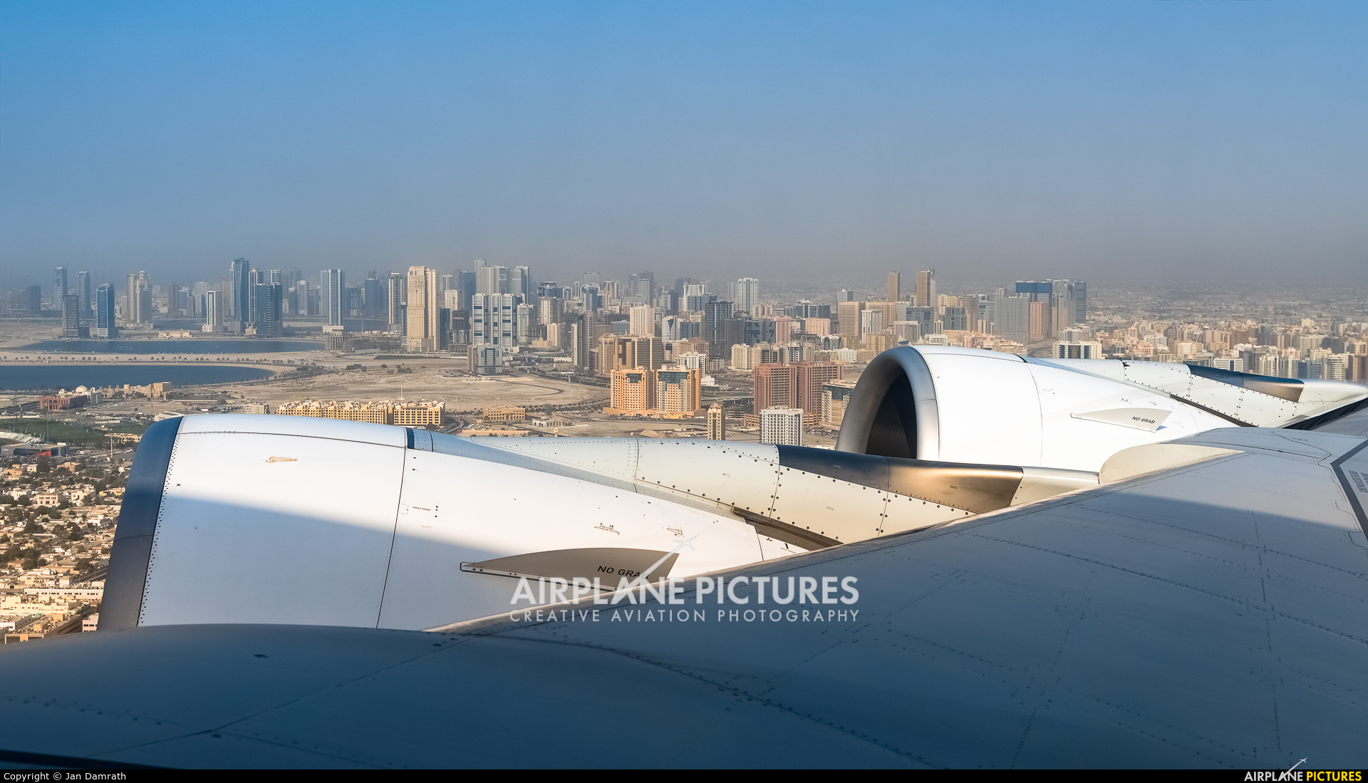 Emirates Airlines A6-EEB aircraft at In Flight - UAE