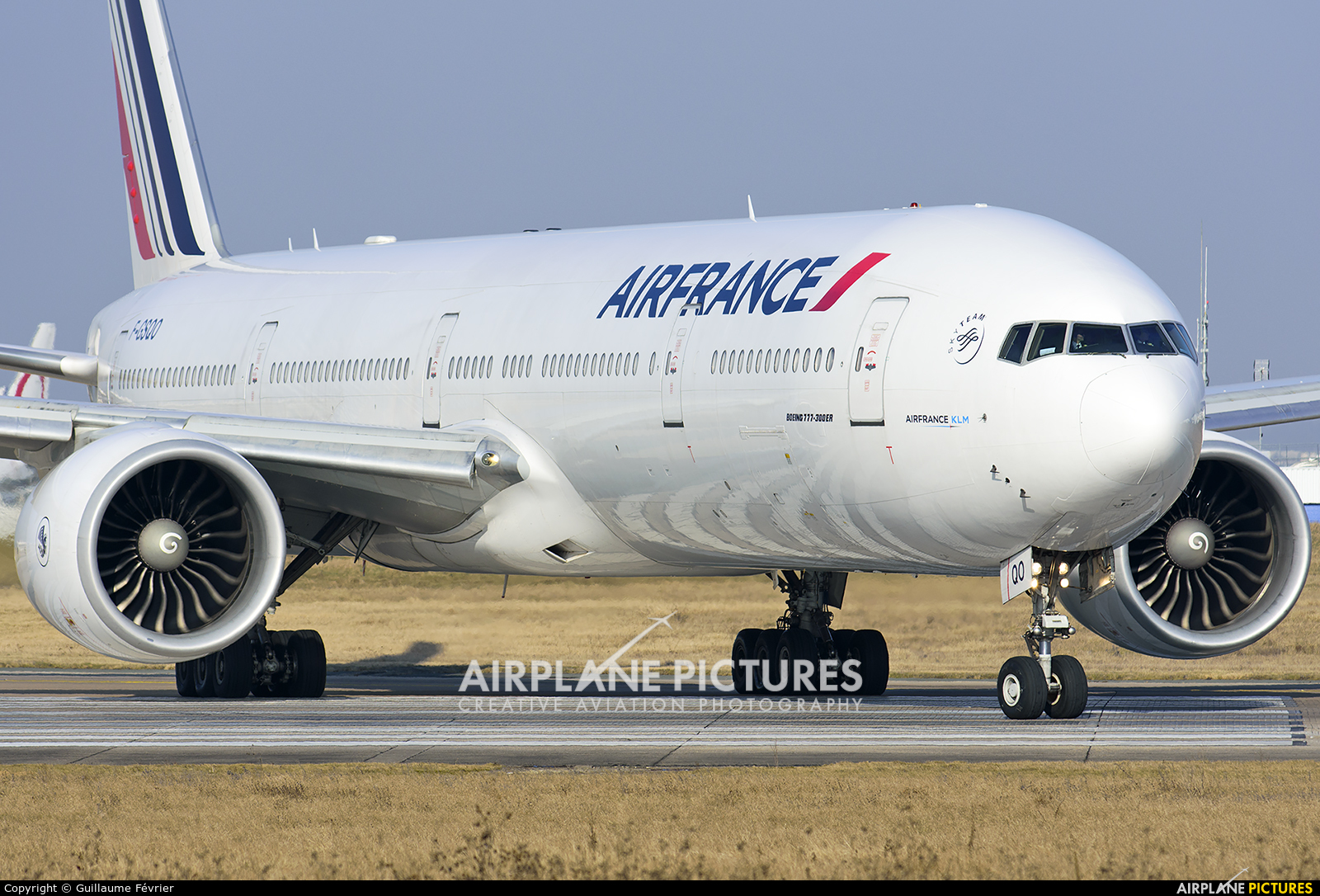 Air France F-GSQO aircraft at Paris - Orly