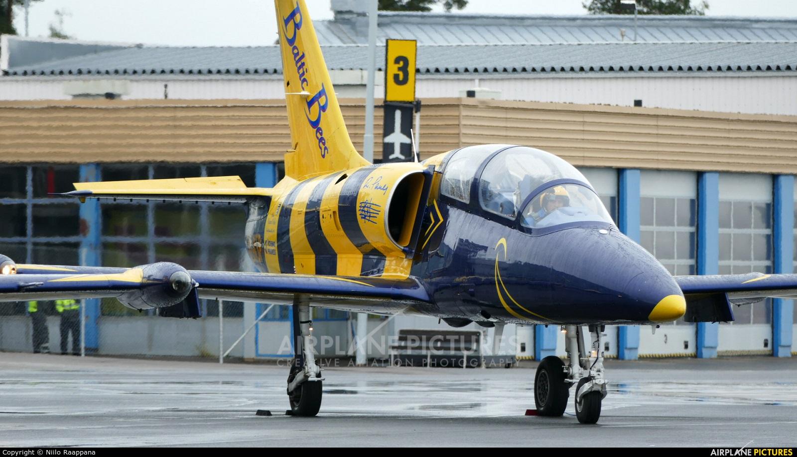 Baltic Bees Jet Team YL-KSR aircraft at Kuopio Rissala