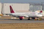 D-AVXT - Juneyao Airlines Airbus A321 aircraft
