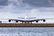 A6-EEL - Emirates Airlines Airbus A380 aircraft