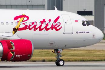 F-WWBO - Batik Air Airbus A320