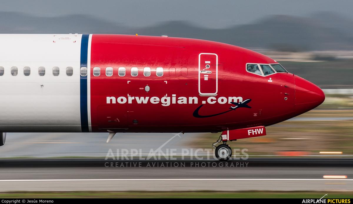 Norwegian Air International EI-FHW aircraft at Málaga