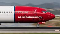 EI-FHW - Norwegian Air International Boeing 737-800 aircraft