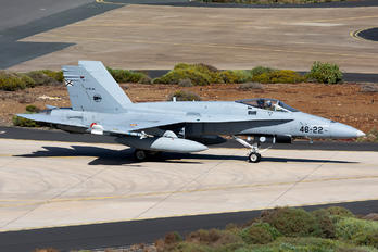 C.15-94 - Spain - Air Force McDonnell Douglas F/A-18A Hornet