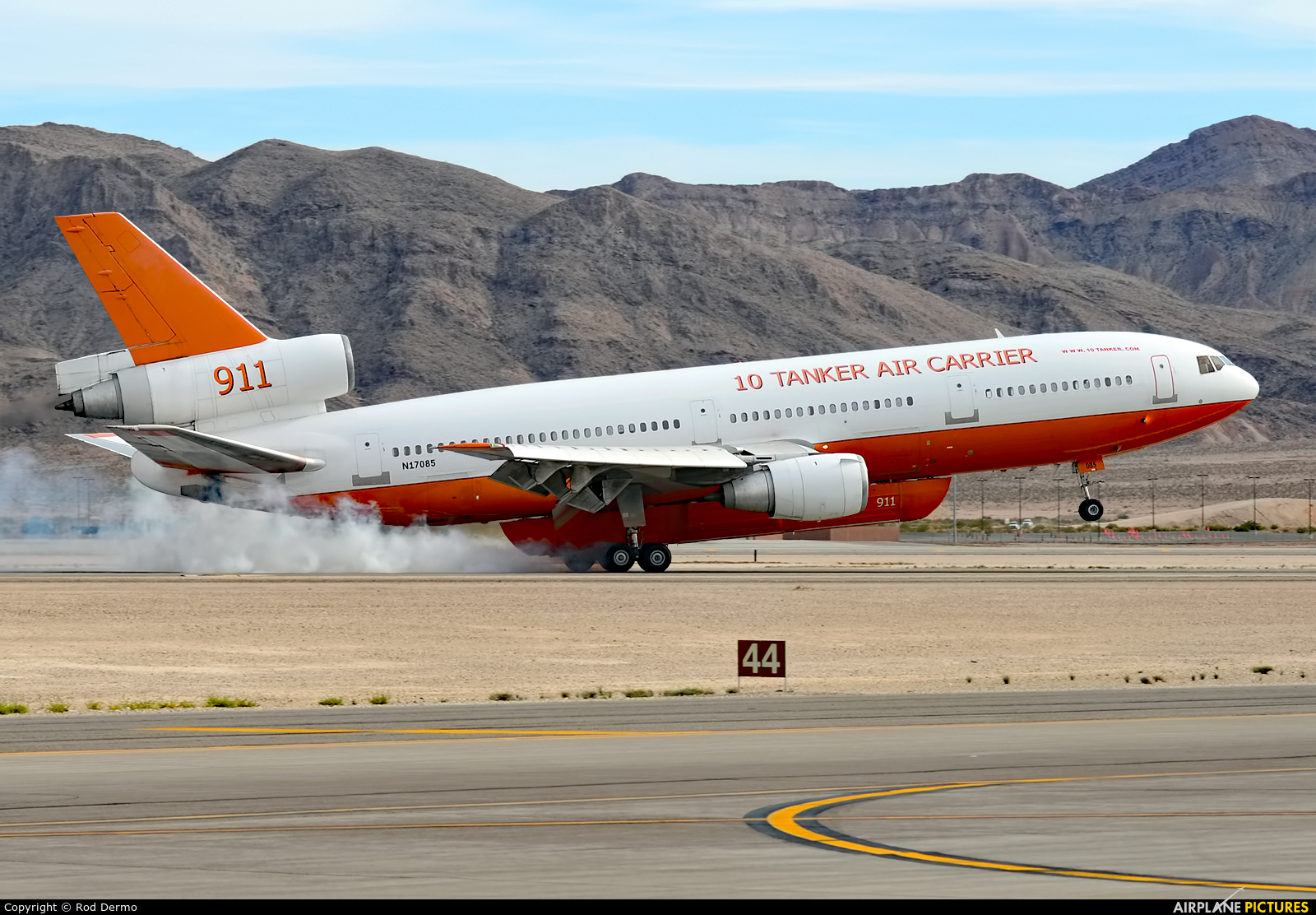 10 Tanker Air Carrier N17085 aircraft at Nellis AFB