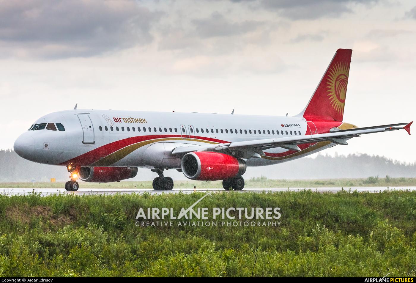 Air Bishkek EX-32002 aircraft at Surgut