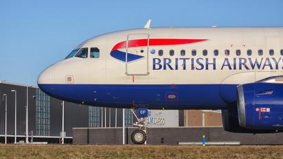 G-DBCF - British Airways Airbus A319