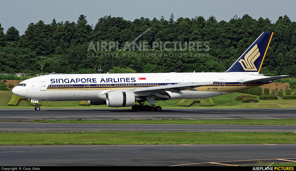 Singapore Airlines 9V-SRM aircraft at Tokyo - Narita Intl