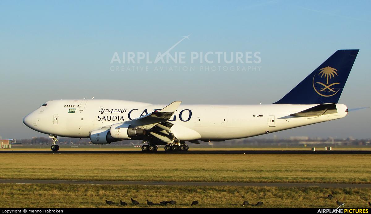 Saudi Arabian Cargo TF-AMM aircraft at Amsterdam - Schiphol