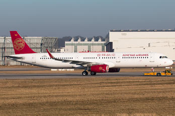 D-AVXT - Juneyao Airlines Airbus A321