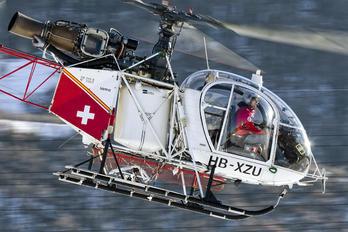 HB-XZU - Air Glaciers Aerospatiale SA-315B Lama