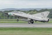SE-DXP - Swedish Air Force Historic Flight SAAB SK 35C Draken aircraft