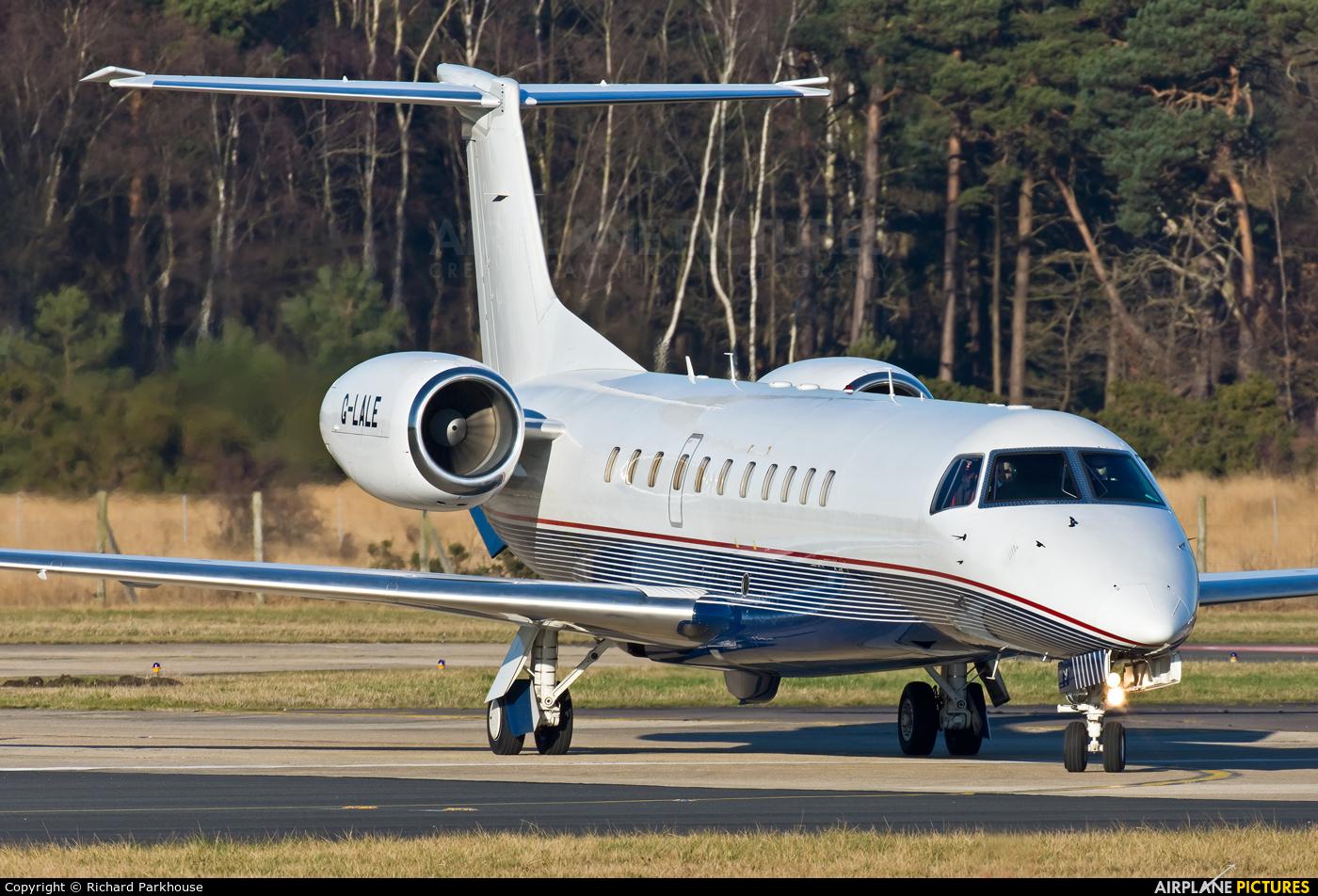 London Executive Aviation G-LALE aircraft at Farnborough