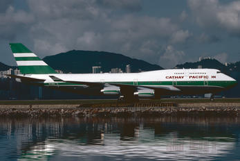VR-HUI - Cathay Pacific Boeing 747-400