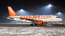 G-EZBE - easyJet Airbus A319 aircraft