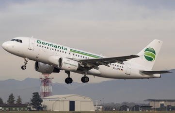 D-ASTR - Germania Airbus A319