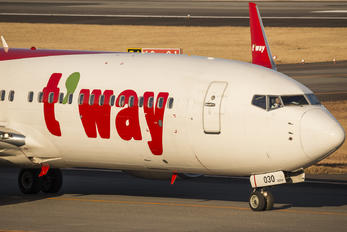 HL8030 - T'Way Air Boeing 737-800