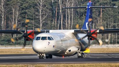 G-FBXA - SAS - Scandinavian Airlines ATR 72 (all models)