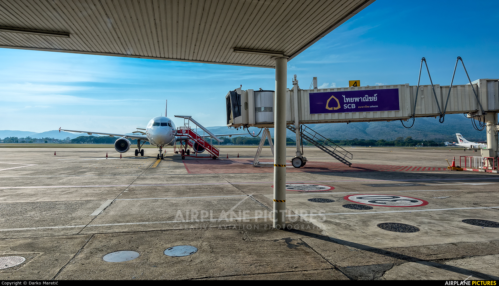 - Airport Overview - aircraft at Chiang-Mai