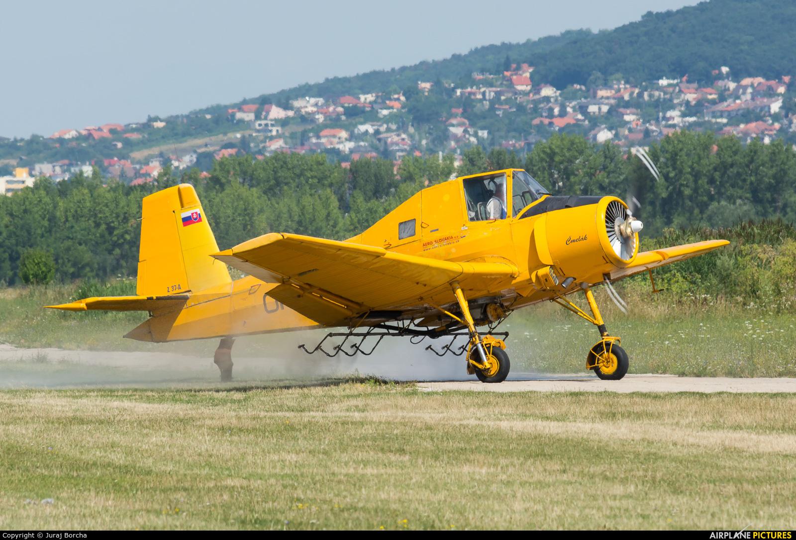 Aero Slovakia OM-HJX aircraft at Nitra