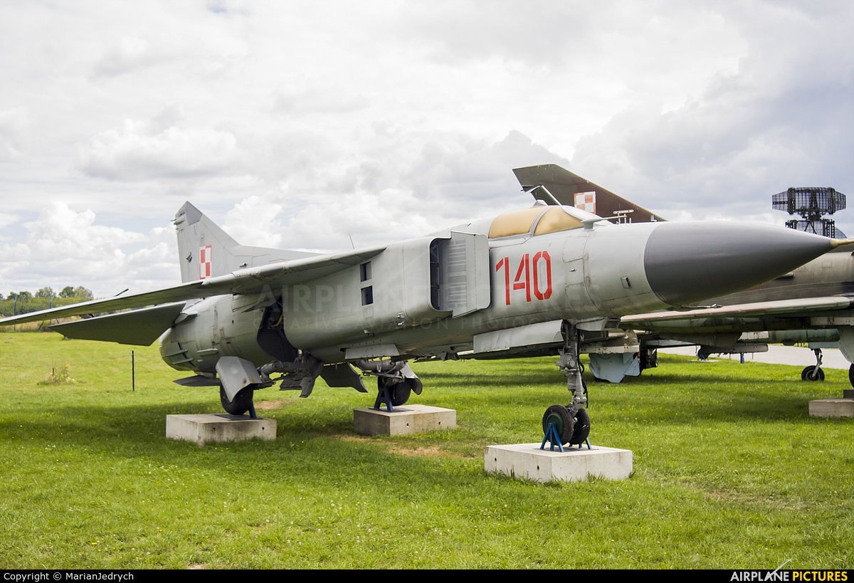 Poland - Air Force 140 aircraft at Dęblin - Museum of Polish Air Force
