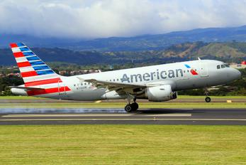 N715UW - American Airlines Airbus A319