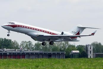 VP-CYT - Private Bombardier BD-700 Global Express XRS