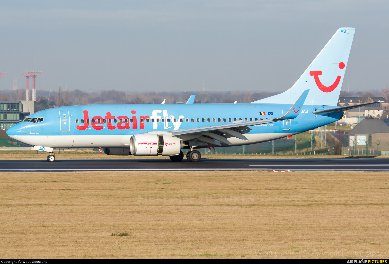 Jetairfly (TUI Airlines Belgium) OO-JAS aircraft at Brussels - Zaventem