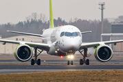 YL-CSB - Air Baltic Bombardier CS300 aircraft