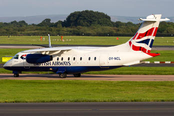 OY-NCL - British Airways - Sun Air Dornier Do.328JET