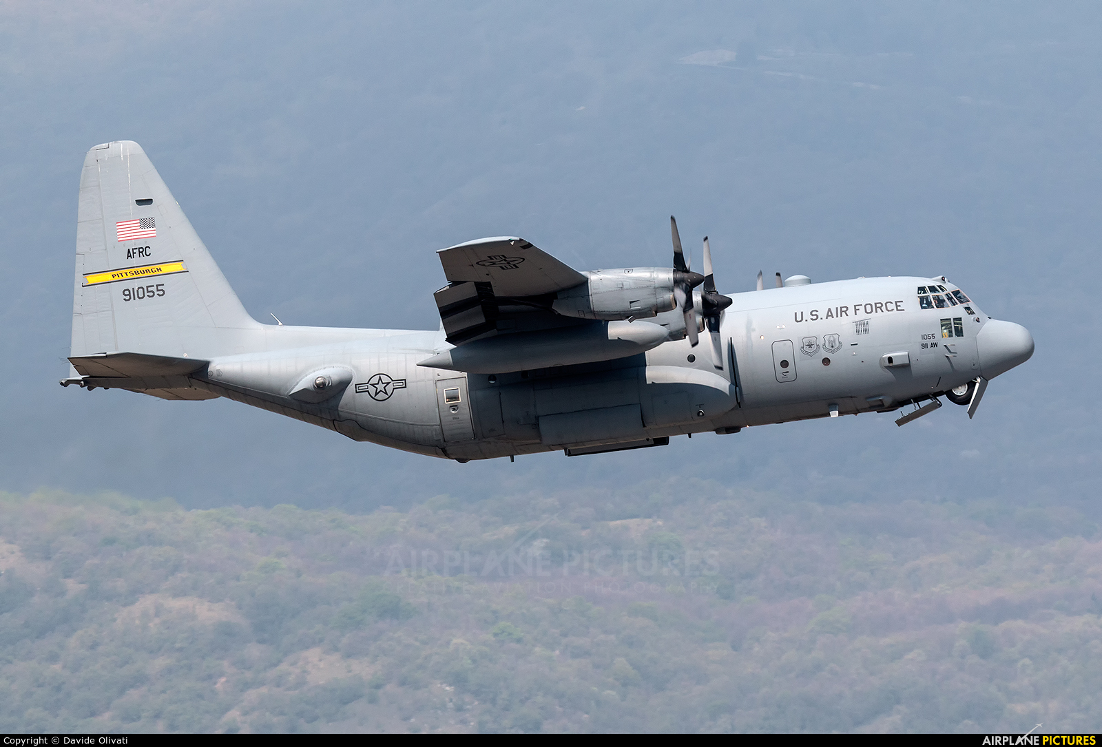 USA - Air Force 89-1055 aircraft at Aviano