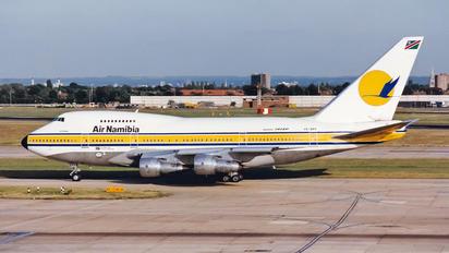 V5-SPF - Air Namibia Boeing 747SP