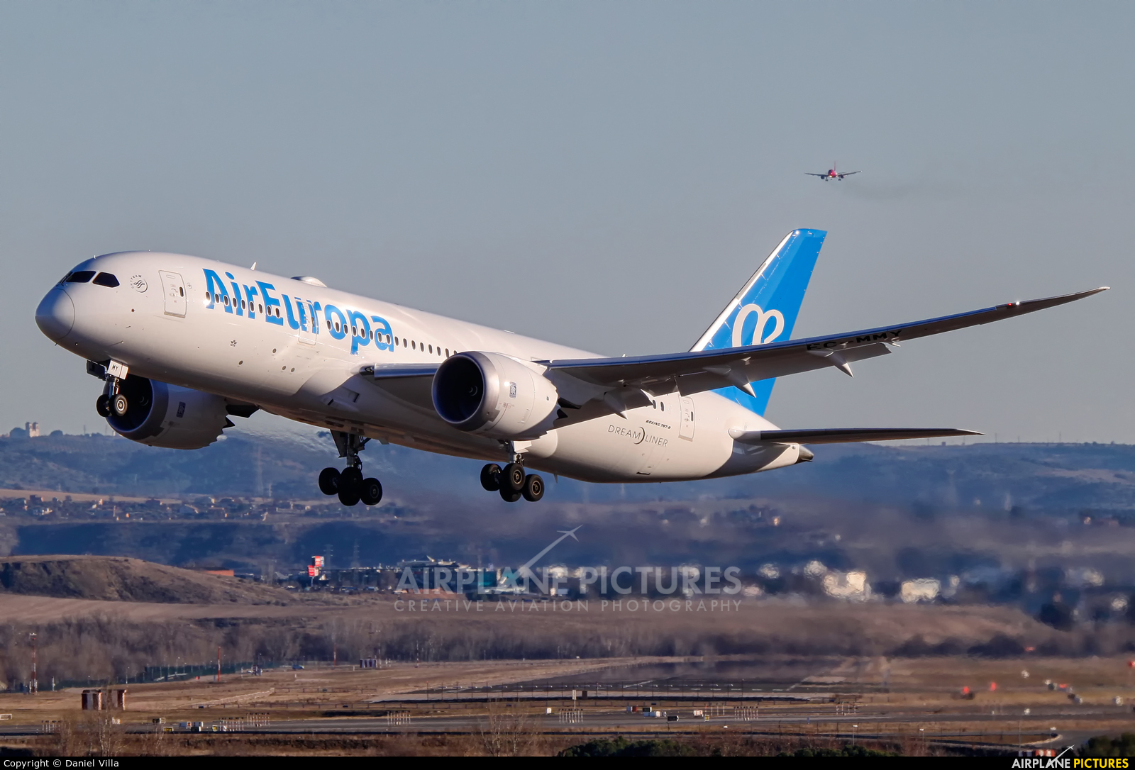 Air Europa EC-MMY aircraft at Madrid - Barajas