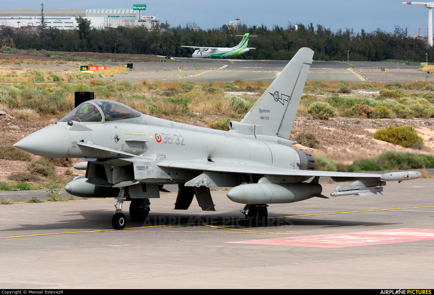 Italy - Air Force MM7310 aircraft at Aeropuerto de Gran Canaria