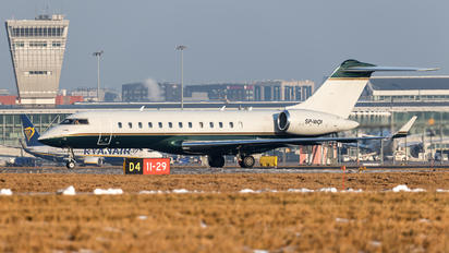 SP-WOI - Blue Jet Bombardier BD-700 Global Express