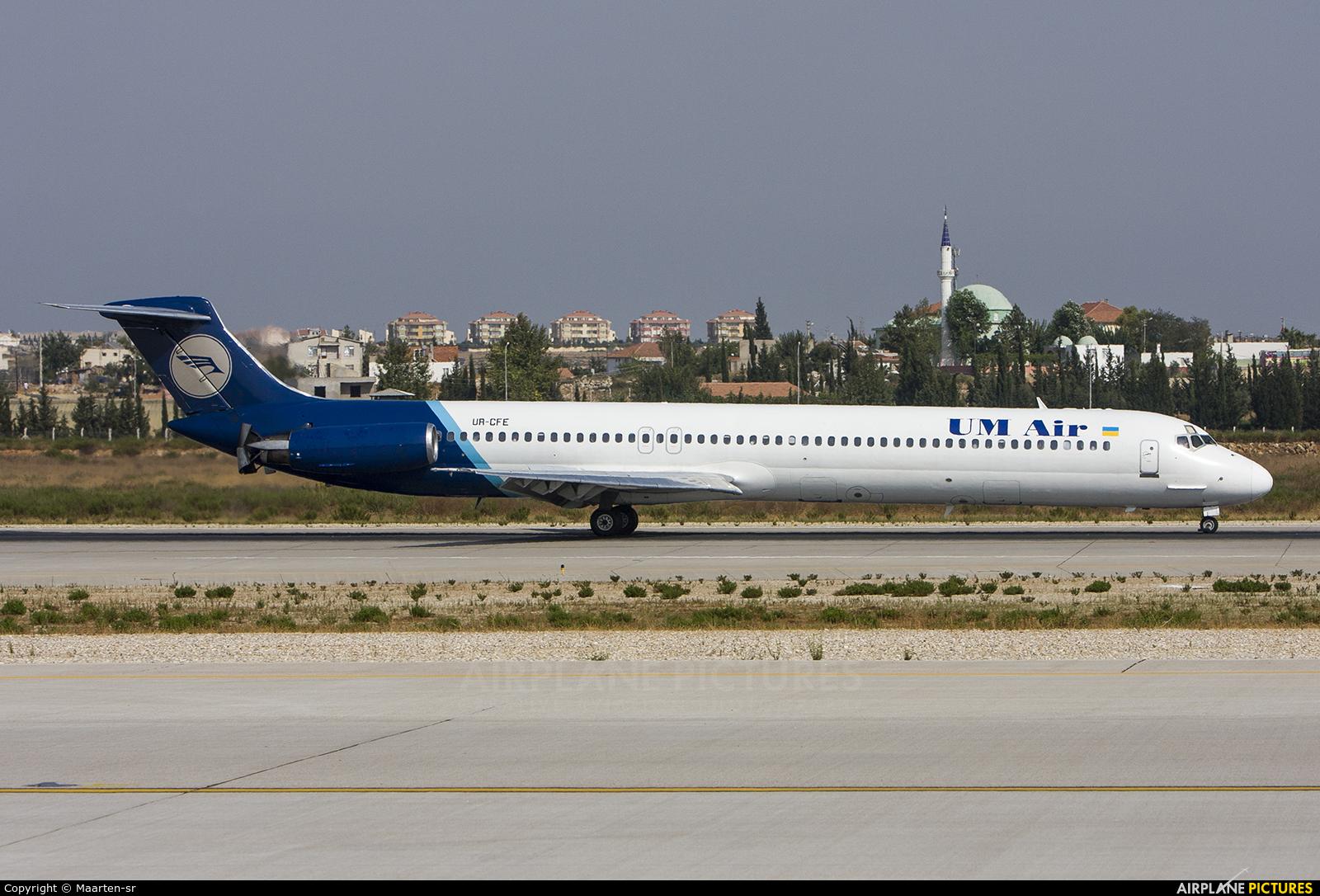 UM Air URCFE aircraft at Antalya