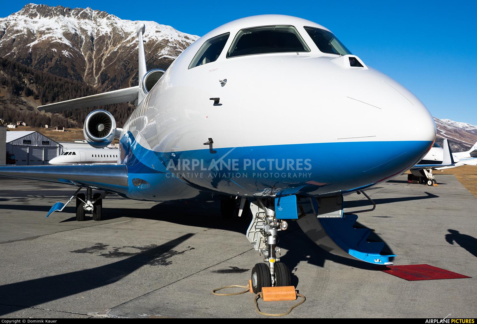 Abelag Aviation OO-GPP aircraft at Samedan - Engadin