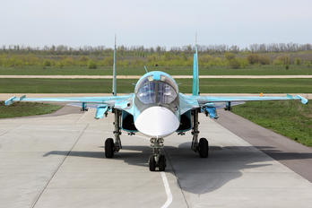 RF-95842 - Russia - Air Force Sukhoi Su-34