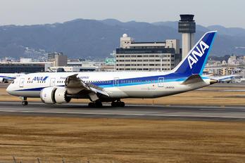 JA825A - ANA - All Nippon Airways Boeing 787-8 Dreamliner