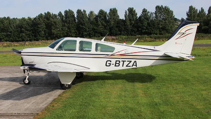 G-BTZA - Private Beechcraft 33 Debonair / Bonanza