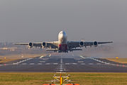 A6-EOR - Emirates Airlines Airbus A380 aircraft
