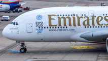 A6-EDB - Emirates Airlines Airbus A380 aircraft