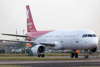 D-ANJA - Nordwind Airlines Airbus A321