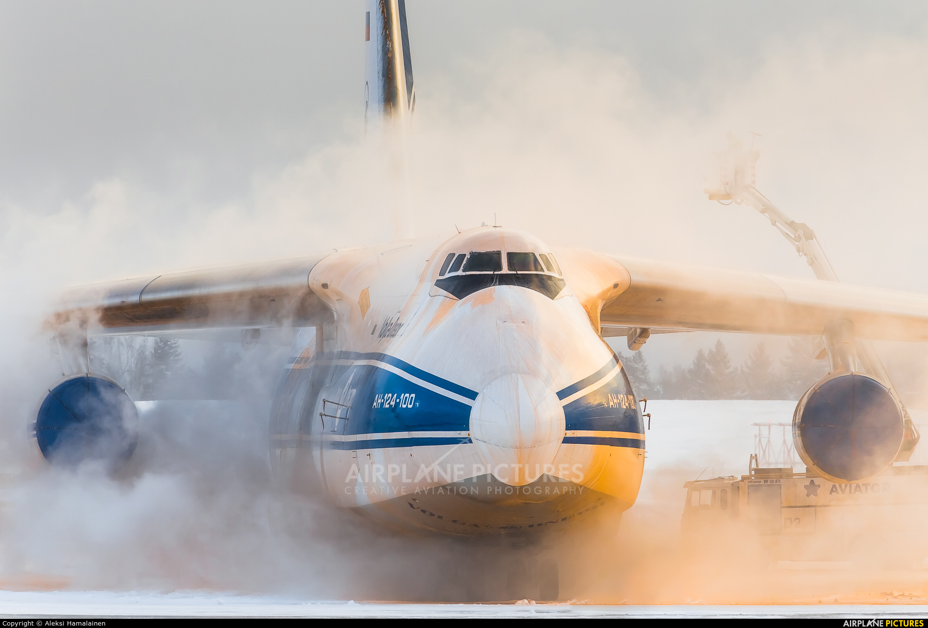 Volga Dnepr Airlines RA-82044 aircraft at Helsinki - Vantaa