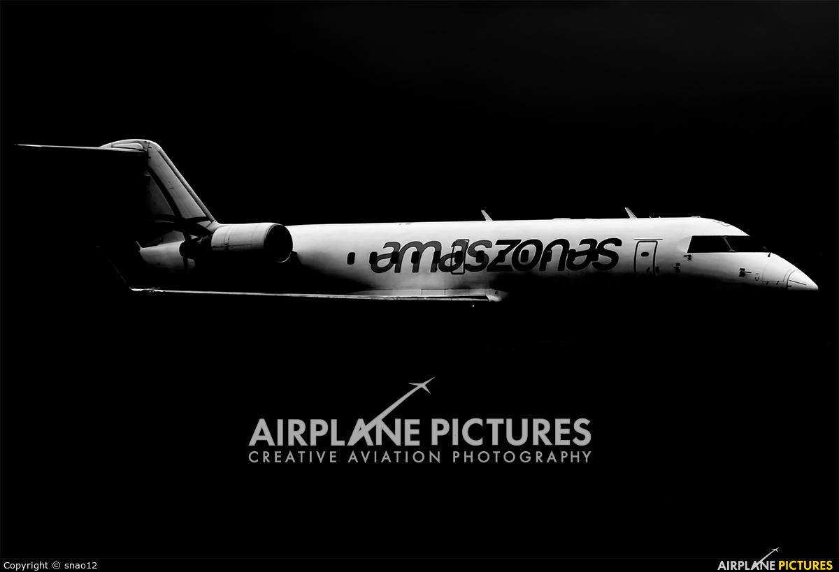 Amaszonas ZP-CRN aircraft at Asuncion - Silvio Pettirossi Intl
