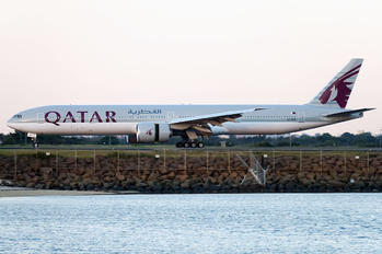 A7-BEG - Qatar Airways Boeing 777-300ER
