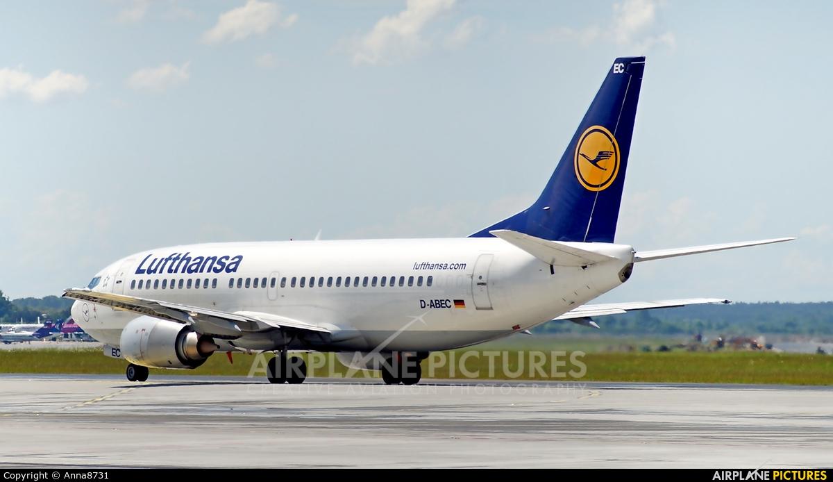 Lufthansa D-ABEC aircraft at Katowice - Pyrzowice