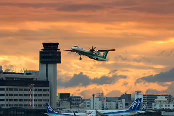 JA858A - ANA - All Nippon Airways - Airport Overview - Control Tower